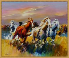 Ostáriz Art Gallery: Christian Jequel Painted Horses, Art Gallery, Horse Art, Beautiful Horses, Art Forms, Farm Animals, Art Reference, Camel, Backdrops