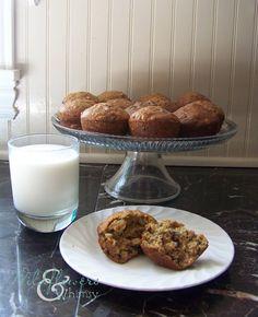 #FoodFunHop :: Cranberry Walnut Breakfast Muffins by http://www.wildflowersandwhimsy.com