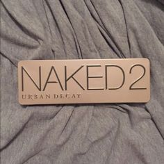 Urban Decay Naked2 Pallette 20% off when you purchase 2 or more items from my closet! This pallette is very gently used. Some colors not even used, includes CLEAN, NEW brush. Urban Decay Makeup Eyeshadow