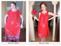 365 Upcycled, DIY Dresses (All Under $1) [Photos] : TreeHugger