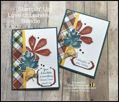 Stampin' Up! Love of Leaves Bundle   Cindy Lee Bee Designs
