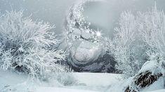 Футаж Кружится и хохочет метель под Новый год HD