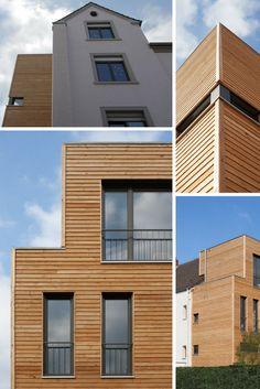 Moderner Anbau mit Holzfassade trifft auf klassischen Altbau. Architekten: RSA Architekten | Hausbauer: Soester Holzhaus | Fenster & Türen: Sorpetaler Fensterbau