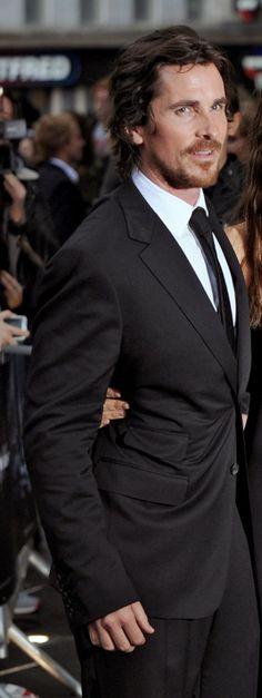 #Christian bale #suit #TDKR premiere 2012