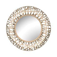 "1STOPlighting.com   Field - 24"" Round Wall Mirror"