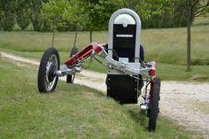 "Swincar tilting 4-wheel-drive ""spider car"" makes light work of bizarre terrain"