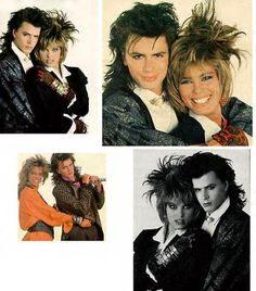 John Taylor (Duran Duran) & Renée Simonsen I had this but it got ruined.He looks so good here.I'm looking for a copy if anyone has extra