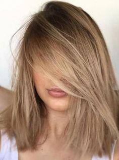 20 Stunning Blonde Hair Color Ideas in 2019 - hair - hair Ombré Hair, New Hair, Wavy Hair, Pixie Hair, Thin Hair, Summer Hair Color For Brunettes, Blonde Hair For Brunettes, Ombre Hair For Blondes, Hair Ideas For Blondes