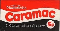Caramac chocolate bar. #mackintosh's #caramac #chocolate #sweets #1970s