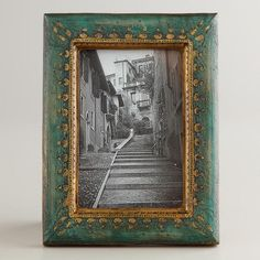 Green and Gold Fiona Frame
