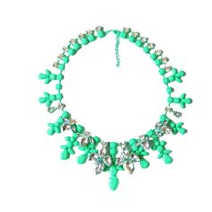 Aliexpress.com : Buy Fashion shining rhinstone chokers necklace Vintage necklaces fluorescent color statement  jewelry   Free shipping drops...