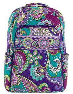 1854725d0094 Vera bradley backpack in heather Vera Bradley Laptop Backpack