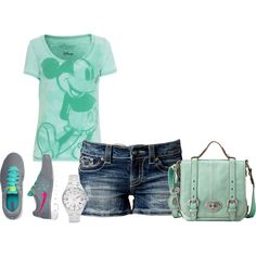 """day at Disney World"" by missy-smallen on Polyvore"
