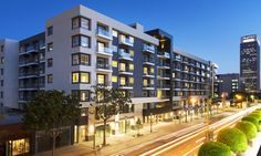 Hanover Olympic is the first building in Los Angeles to include net-zero, solar-powered apartments.