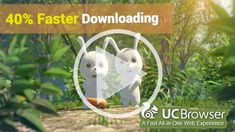 UCBrowser is the fastest and best Android browser.  It's now available for Windows PC ---- Download UC Browser UC Browser (U3 kernel) 10.5.0.575