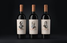 Composition — Brand concept #FB_Agency #Package #Design #Wine #Composer #illustration #Дизайн #Упаковка #Вино