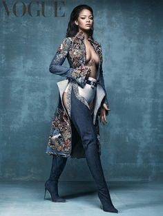 Cover girl Rihanna! British Vouge