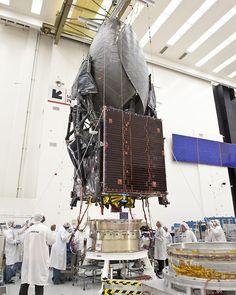NASA Launches Next-Generation Communications Satellite