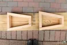 Learn how to make your own West Elm bench without spending an arm and a leg. Theirs, $699...ours, under $15!!