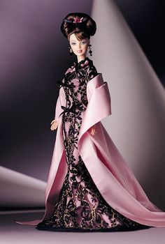 Hanae Mori Barbie Doll Original Price No Longer Available From Mattel $79.96 Limited Edition Release Date: 1/1/2000 Product Code: 24994#Repin By:Pinterest++ for iPad#