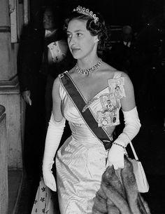 """Princess Margaret in 1954. """