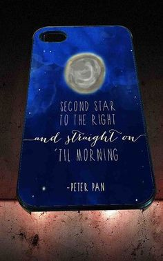 Disney Peter Pan Quotes for iPhone 4/4s, iPhone 5/5S/5C/6, Samsung S3/S4/S5 Unique Case *76* - PHONECASELOVE