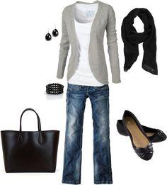 Gray & Black black pants for work