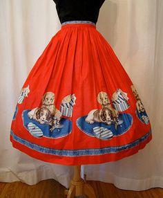 #vintage #1950s #fashion #skirts
