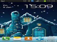 Winter By Inosoftmedia  Android App - playslack.com , Winter by Inosoftmedia - enjoy winter scenery and supernatural sky. Live wallpapers are finished  with enlivened stars, plummeting  precipitation, dwelling windows and colored lights.
