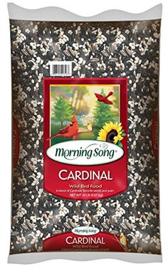 Morning Song 11341 Cardinal Wild Bird Food, 20-Pound -- Check this awesome sponsored product by going to the link at the image.