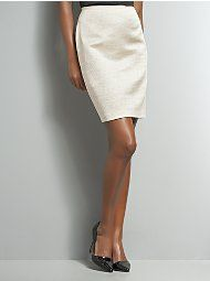 white skirt from new york and co.