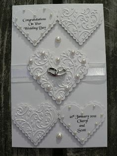 My Craft Creations                        : Wedding Card