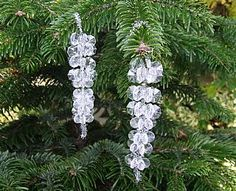 2 Bead Icicle Kits, Christmas Crafts by Theme, Snowmen Crafts, kids crafts, childrens crafts, children's craft supplies, crafts for kids