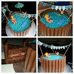 Pool Geburtstag Torte ° JCP