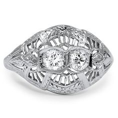The Francoise Ring - This looks a lot like my great-grandmother's ring.
