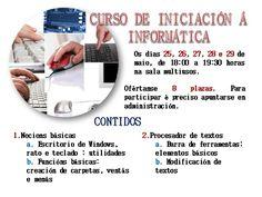 Curso de iniciación a informática.