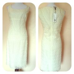 Akris Silk Hand Embroidered Dress Hand Embroidered Silk Dress - could be worn as a wedding dress Akris Dresses
