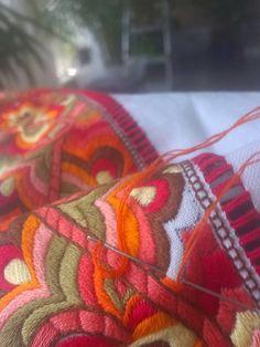 STAKKESTOVA: Beltestakk Folk Costume, Costumes, Embroidery Ideas, Folklore, Scandinavian Design, Cross Stitch Embroidery, Fiber Art, Stitches, Weaving