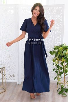 Modest Maxi Dress, Modest Skirts, Chiffon Maxi Dress, Modest Outfits, Dress Up, Maxi Dresses, Vertical Striped Dress, Bridesmaid Dresses With Sleeves, Church Dresses