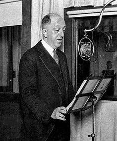 Charles Herrold, broadcast pioneer.