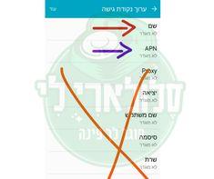 הגדרות גלישה סלולרית לכל הרשתות | SogerPina.co.il Names, Chart, Map, Phone, Telephone, Phones, Maps