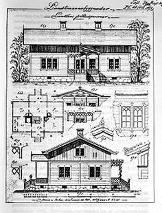 Charles Emil Löfvenskiöld – Wikipedia Floor Plan Drawing, Vintage House Plans, Sims House, Tropical Houses, House Floor Plans, Scandinavian Design, Entryway Decor, Planer, Woodworking Projects