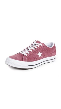 c63a7a655e1 CONVERSE ONE STAR SUEDE LOW TOP SNEAKERS.  converse  shoes. ModeSens Men