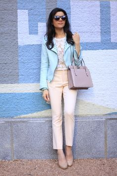 Amazing Blue Studded Blazer