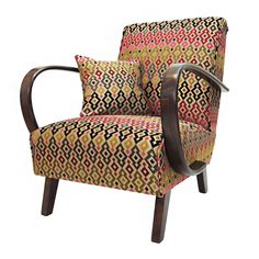 For sale: Czechoslovak Armchair by J. Halabala from Retro Furniture, Living Room Chairs, Love Seat, 1950s, Upholstery, Armchair, Couch, Home Decor, Store