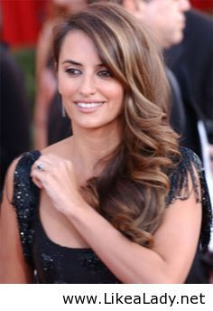 Highlights for dark brown hair and olive skin