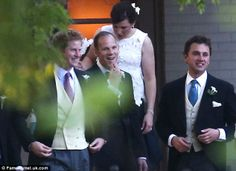 Party Time Prince Harry Attends The Wedding Of Friends Guy Pelly And Elizabeth Wilson