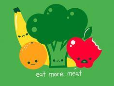 eat meat (Teacher Patrícia)