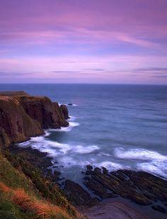 Stonehaven coast, Scotland