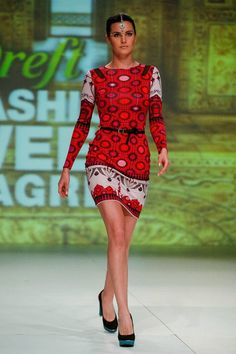 Tramp In Disguise Fashion show #AW13-14 #ArabianNightsCollection #TrampInDisguise #dress #designer trampindisguise.com